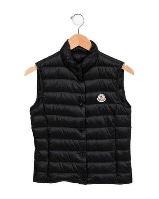 5adf87d67 Lyst - Moncler Liane Down Vest in Black