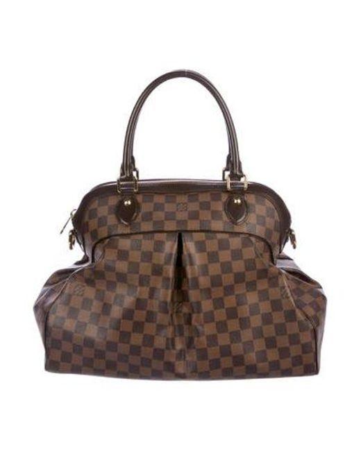 Louis Vuitton - Brown Damier Ebene Trevi Pm - Lyst