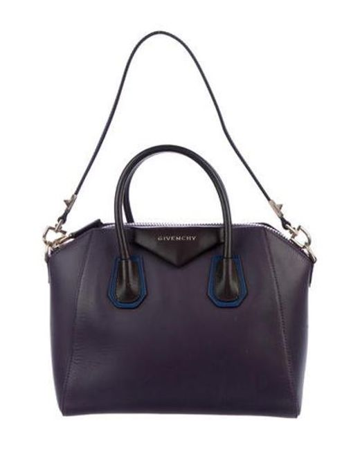 4840c2f2b684 Givenchy - Metallic Small Antigona Bag Purple - Lyst ...