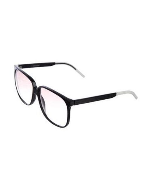 abd6f55aa0fa ... Dior Homme - Black 2007 Tie Sunglasses for Men - Lyst ...