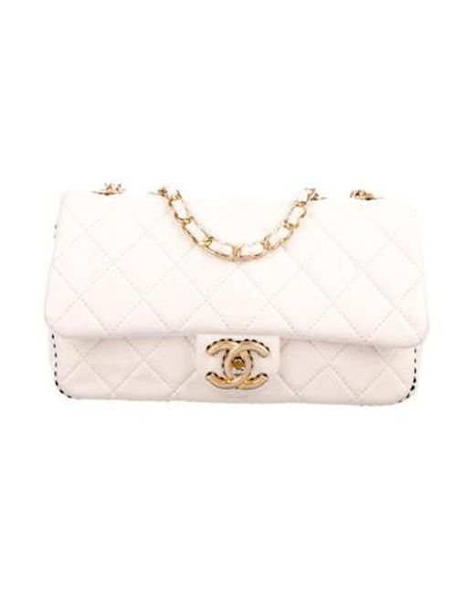 60a711624fa8 Chanel - Metallic 2017 Quilted Single Flap Bag Gold - Lyst ...