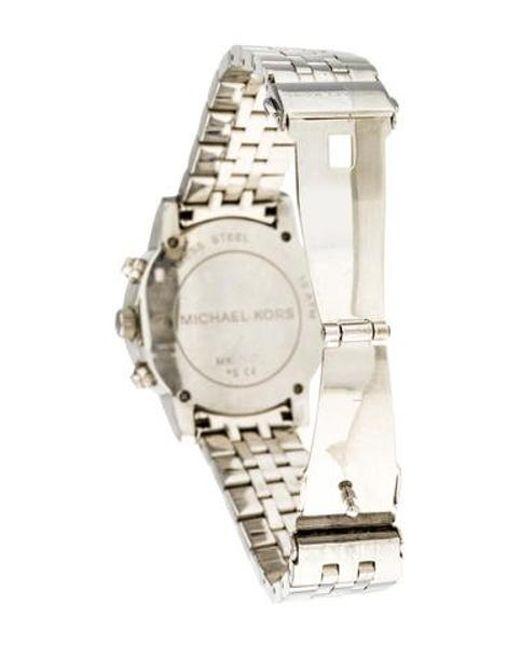 29d4f85069ce ... Michael Kors - Metallic Ritz Watch - Lyst