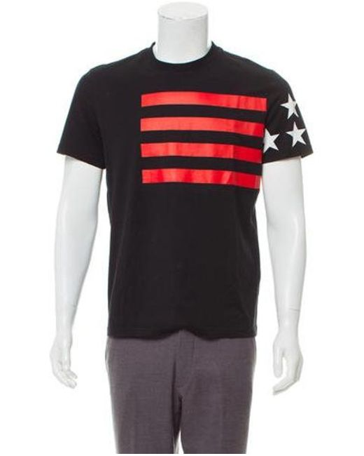 f09833294338 Lyst - Givenchy Stars   Stripes Graphic T-shirt in Black for Men