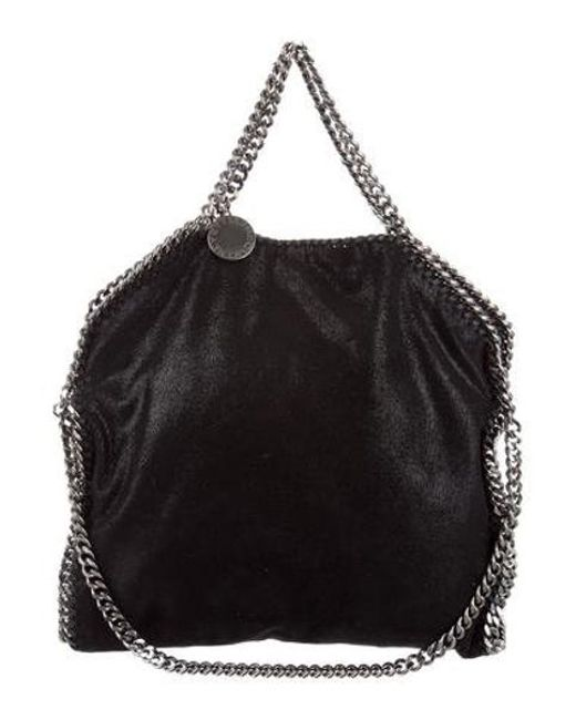 9e38026fcc00 Stella McCartney - Natural Shaggy Deer Falabella Fold-over Tote Metallic -  Lyst ...