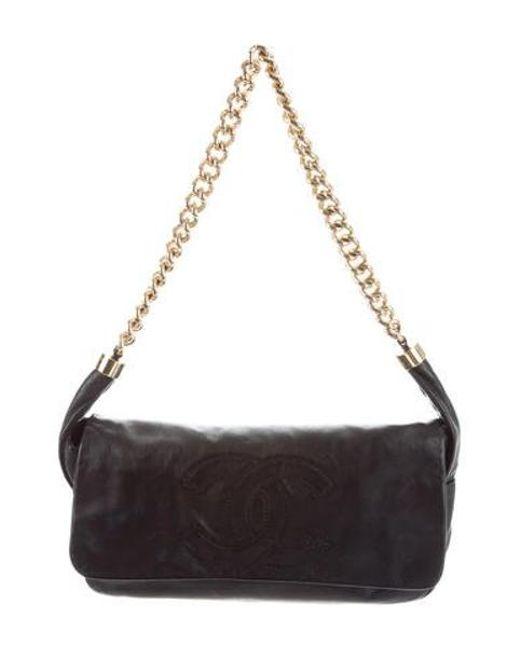 Chanel - Metallic Rodeo Drive Flap Bag Black - Lyst ... d4e229e52fc55