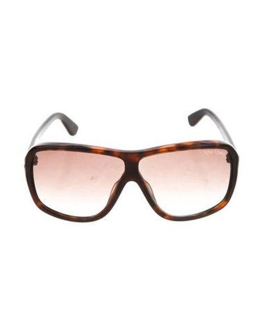 2307443ba82 Tom Ford - Black Gradient Blake Sunglasses for Men - Lyst ...