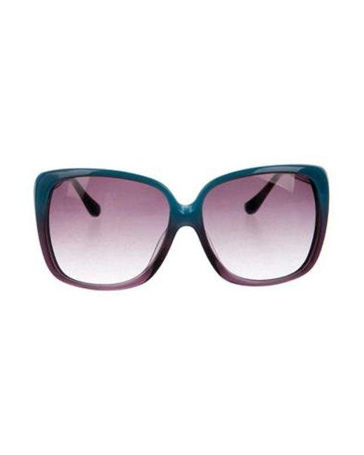 d53bc9d67284 Dita - Metallic Holiday Gradient Sunglasses Aqua - Lyst ...