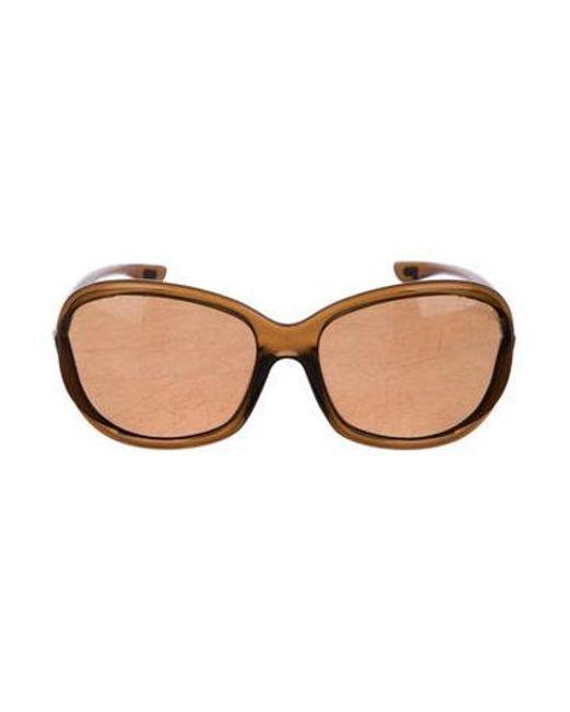 fa5239dc0d Tom Ford - Brown Jennifer Gradient Sunglasses - Lyst ...