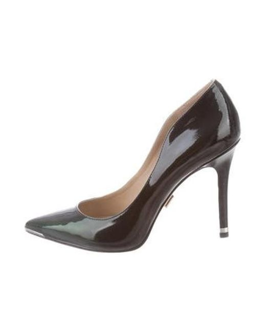 94dd3c2ead4 Michael Kors - Green Pointed-toe Patent Leather Pumps - Lyst ...