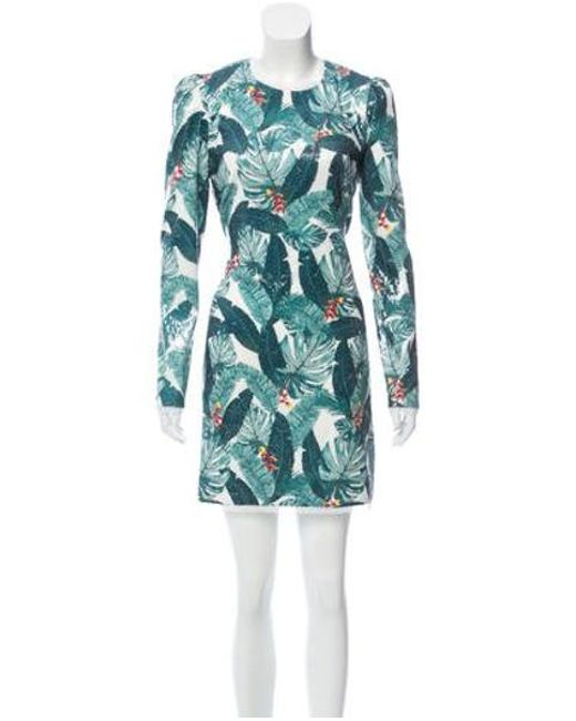 2505be4a Rachel Zoe - Green Amelia Embellished Mini Dress W/ Tags - Lyst ...