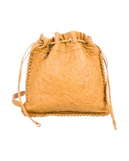Chanel - Metallic Drawstring Camellia Bag Gold - Lyst ... faf13b5757c38