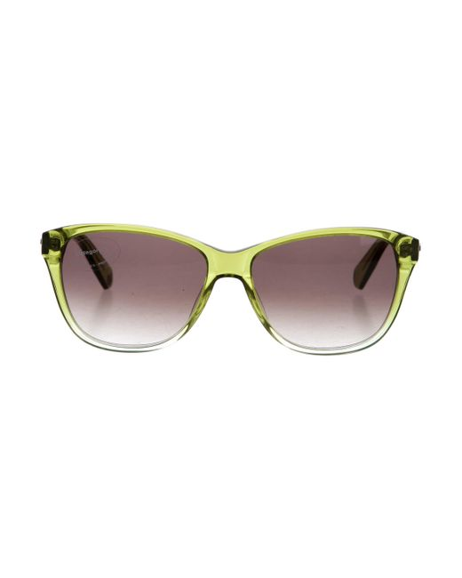 Balmain   Green Translucent Tinted Sunglasses W/ Tags   Lyst