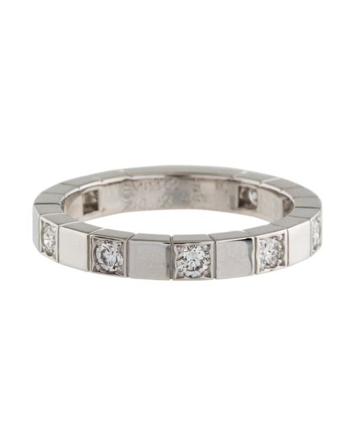 Cartier Diamond Lani¨res Ring White in Metallic