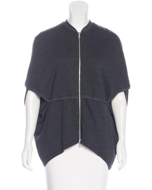 Dries Van Noten | Metallic Knit Short Sleeve Jacket Silver | Lyst