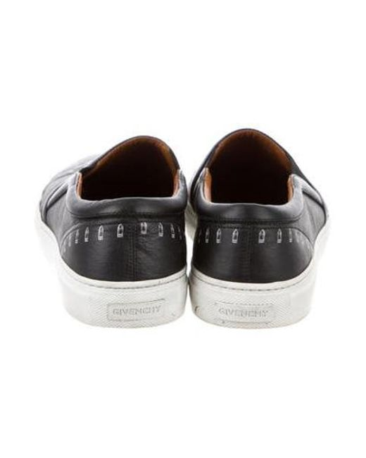 452e982e2062 ... Givenchy - Black Skull Slip-on Sneakers for Men - Lyst