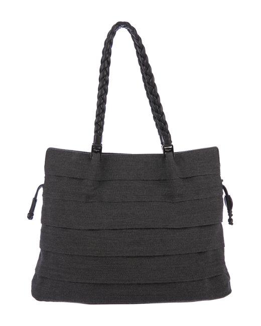 ebb87fc740a8 Ferragamo - Metallic Leather-trimmed Shoulder Bag Silver - Lyst ...