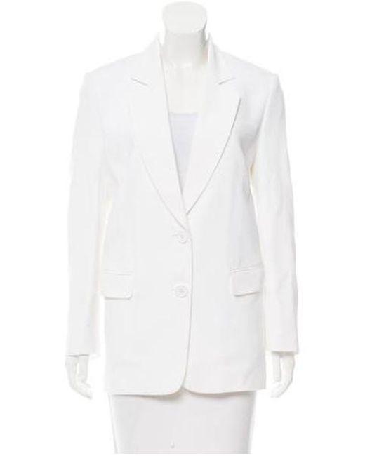 Michael Kors - White Boyfriend Fit Blazer W/ Tags - Lyst
