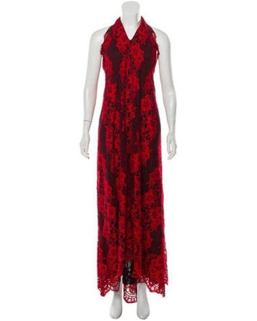 d84a84b5bcb Alexis - Red Lace Evening Dress W  Tags - Lyst ...