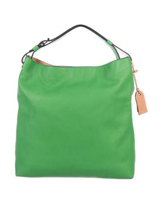 ab1d8d0b9667 Reed Krakoff - Gray Rdk Leather Hobo W  Tags Green - Lyst ...