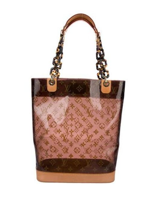 a0fc9c0e888d Louis Vuitton - Natural Cabas Sac Ambre Mm W  Pouch Brown - Lyst ...