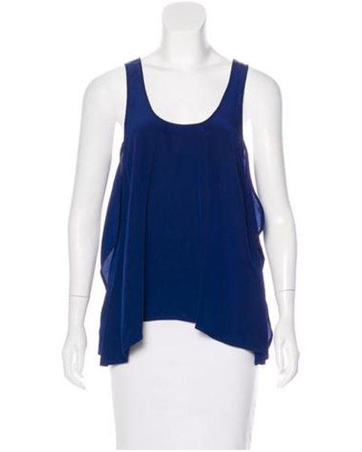 Thakoon - Blue Layered Sleeveless Top - Lyst