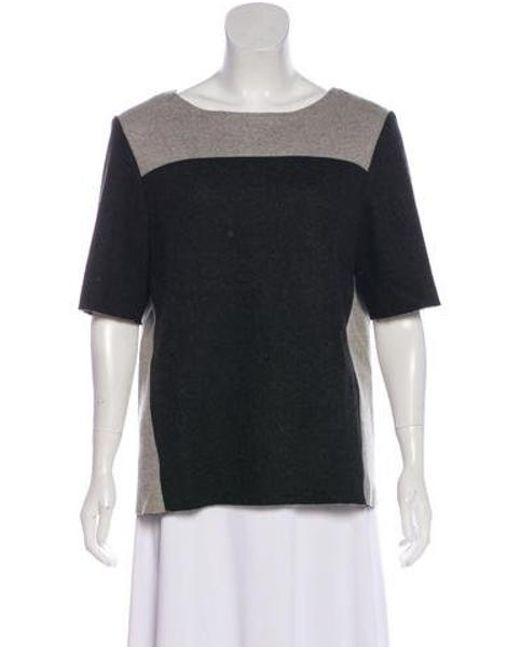 Helmut Lang - Gray Knit Sweater - Lyst