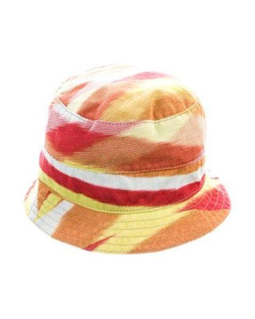 Missoni - Yellow Multicolor Bucket Hat - Lyst ... 28eb9f4cca2