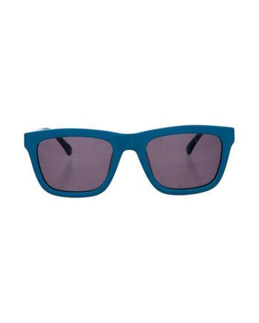 815affa6388 Karen Walker - Blue Deep Freeze Sunglasses - Lyst ...
