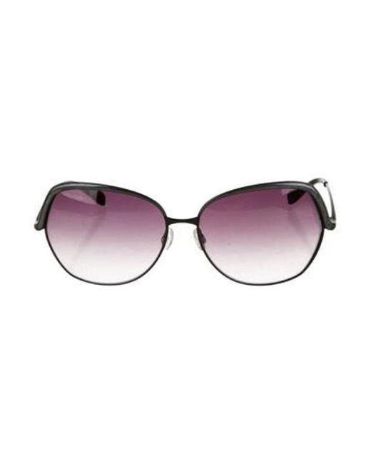 04c0596910930 Oliver Peoples - Black Sacha Gradient Sunglasses - Lyst ...