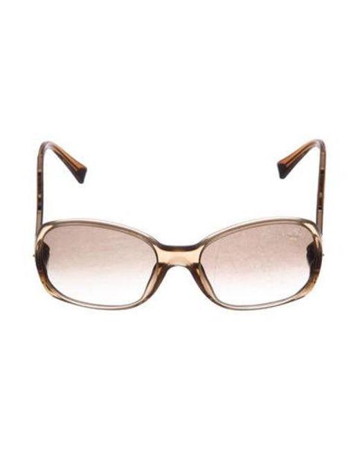 c526e85af2e4 Louis Vuitton - Natural Gina Glitter Sunglasses Beige - Lyst ...