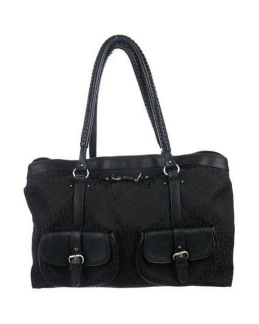 441789a57e86 Dior - Metallic Diorissimo Shoulder Bag Black - Lyst ...