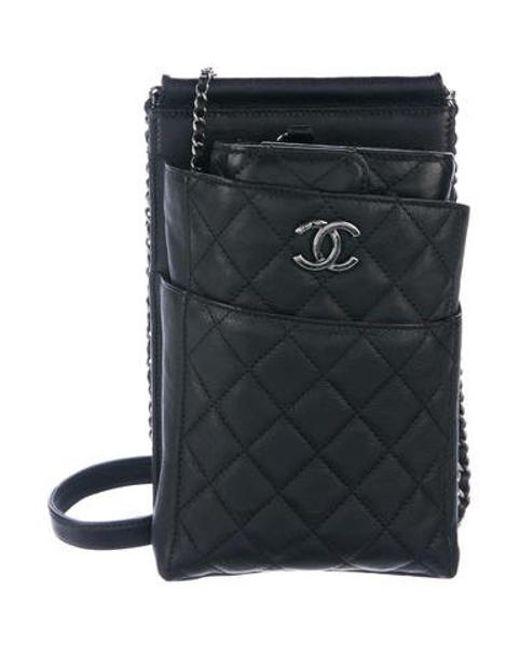 Chanel - Black Cc Mini Waiter Bag - Lyst