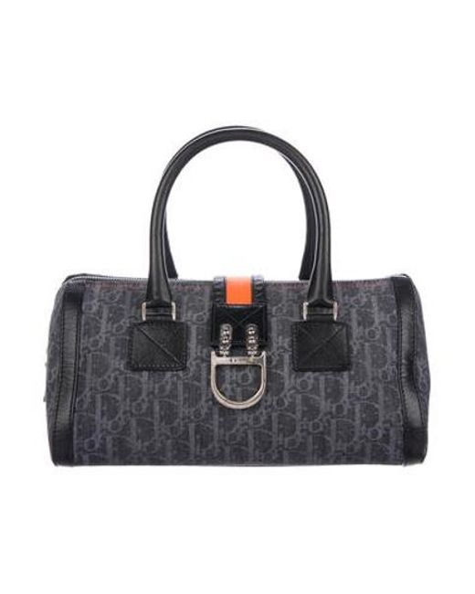f99a57fdfc50 Dior - Metallic Diorissimo Denim Bag - Lyst ...