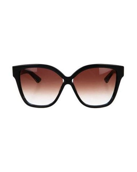 acdc8cafd12 Dita - Blue Oversize Gradient Sunglasses Navy - Lyst ...