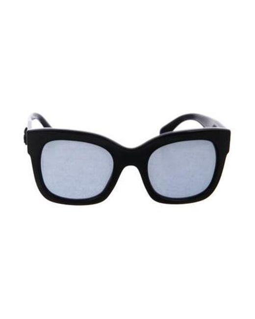 993a0e2f9806 Chanel - Black 2017 Square Fall Sunglasses - Lyst ...