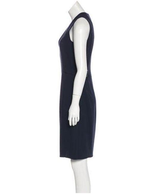 371f8fab3e ... Akris - Blue -blend Dress W  Tags - Lyst ...