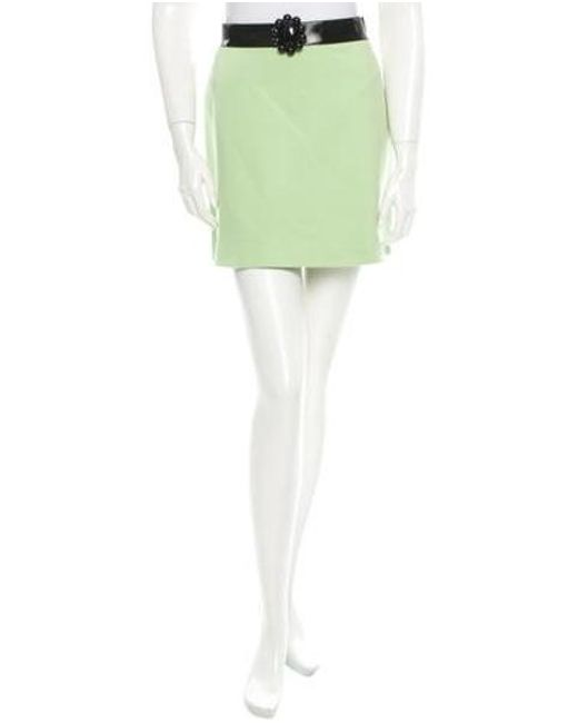 Boutique Moschino - Green Skirt W/ Tags - Lyst
