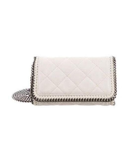 Stella McCartney - White Falabella Crossbody Bag - Lyst ... 67dd5efcfe610