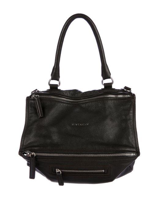 Givenchy - Metallic Large Pandora Bag Brown - Lyst ... 217c8225255e6