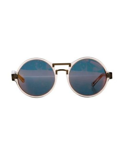 c06492c26c8 Lyst - Finlay   Co. Mirrored Round Sunglasses Clear in Metallic