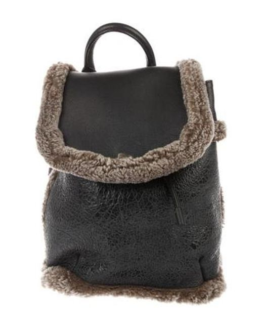 8b564ee3bf Rag   Bone - Black Mini Pilot Backpack - Lyst ...