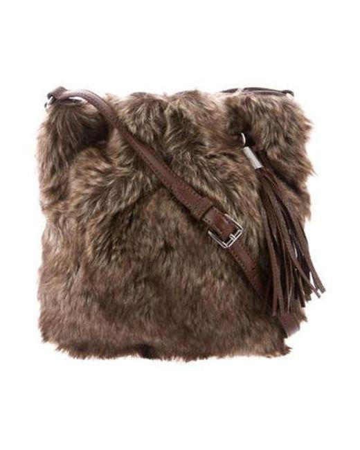 MICHAEL Michael Kors - Metallic Michael Kors Large Ring Crossbody Bag W/ Tags Brown - Lyst