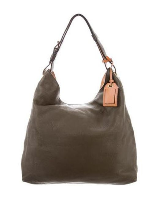 ac8cd924466a Reed Krakoff - Metallic Leather Rdk Hobo Brown - Lyst ...