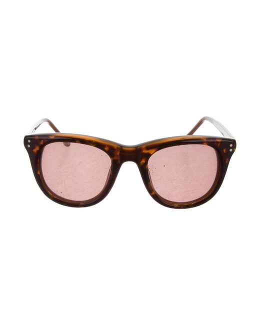 302886ae33 Steven Alan - Brown Amber Tinted Sunglasses - Lyst ...