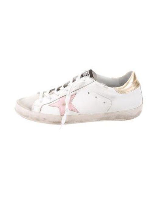 2f1fa296ebe Golden Goose Deluxe Brand - Metallic Superstar Low-top Sneakers Grey - Lyst  ...