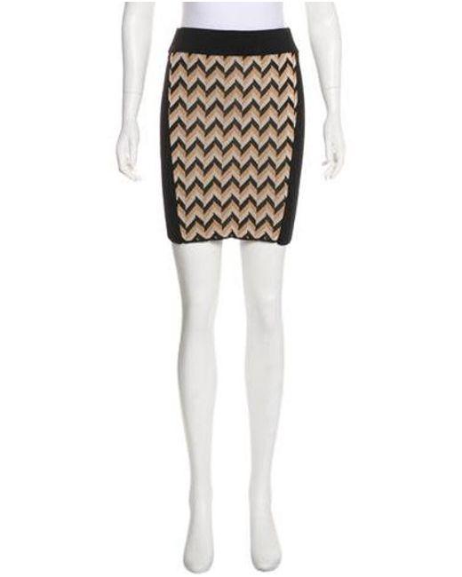 1c62c8f03c Rag & Bone - Black Stretch Mini Skirt - Lyst ...