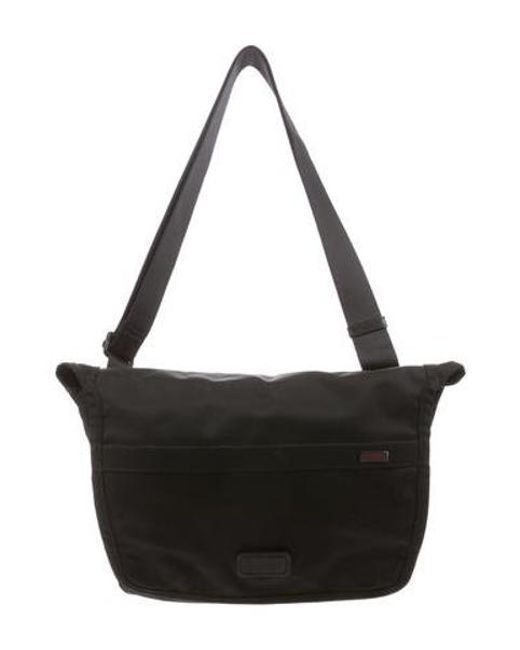 Tumi Black Alpha Netbook Mini Messenger Bag For Men Lyst