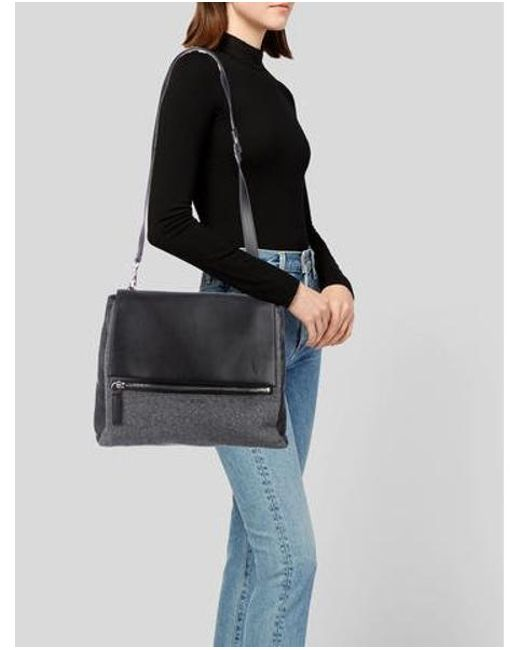 288eeb1fe3 ... Givenchy - Metallic Pandora Pure Satchel Black - Lyst ...