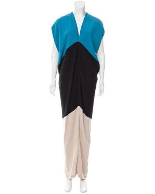 Zero + Maria Cornejo - Black Issa Maxi Dress - Lyst