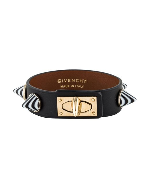 Shark tooth leather bracelet Givenchy 3lDi48F